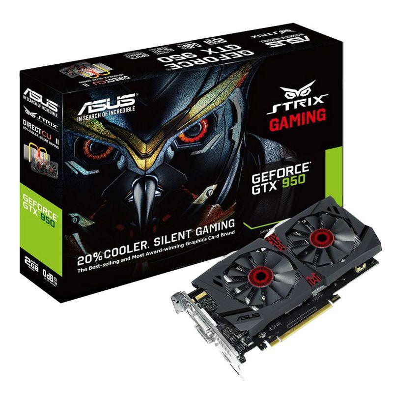 Игровая видеокарта Asus GeForce GTX 950