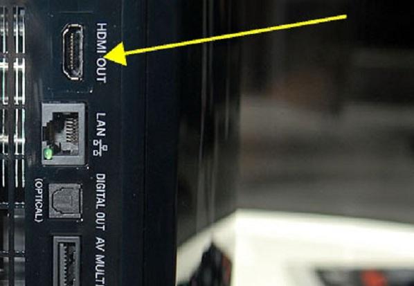 HDMI вход в телевизоре