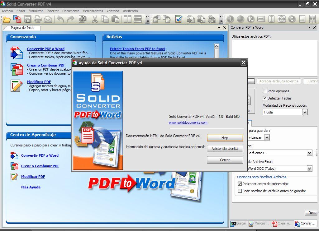 Конвертр PFD файлов Solid Converter