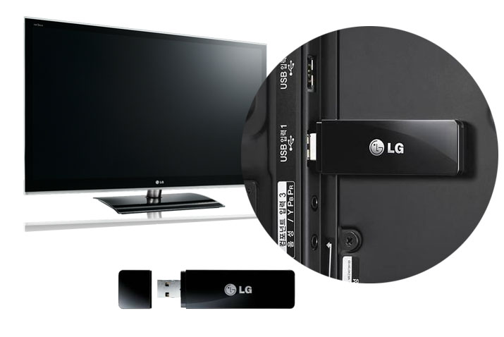 USB модуль Wi-Fi для телевизора