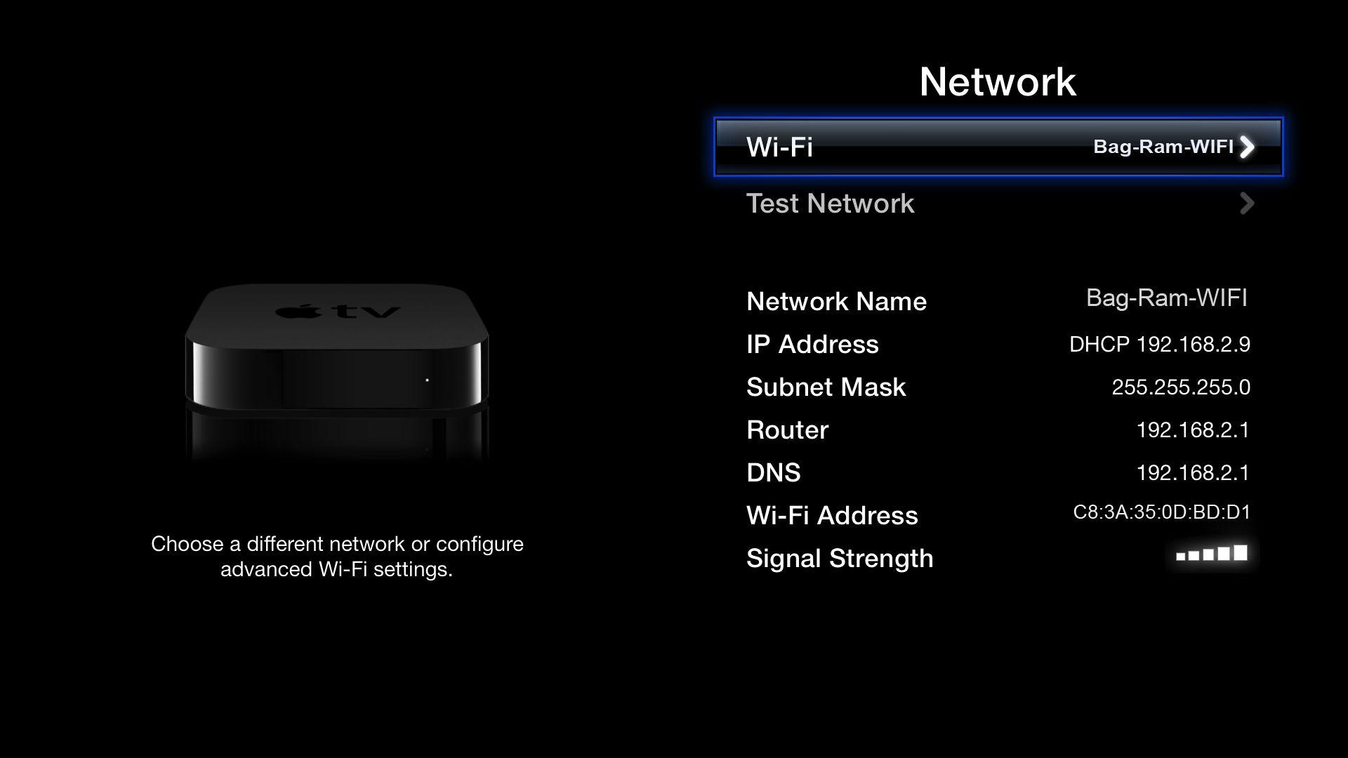 Подключение Wi-Fi к телевизору