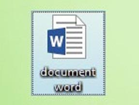 Ярлык Microsoft Word